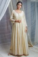 Kantha Embroidered Maxi Dress