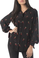 Chilly embroidered shirt