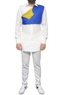 White shirt with yoke