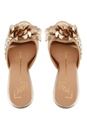 Rose gold 3D pattern stilettos