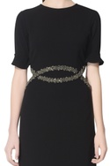 Black dress with embellishments
