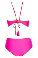 Pink one-piece swimsuit