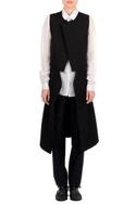 Black textured layered jacket