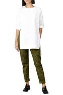 White high low shirt