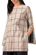 Ivory handwoven chanderi blouse