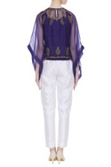 Sequin embroidered blouse with inner