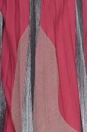Pleated style palazzos in lurex applique