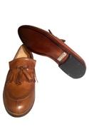 Block Heels Tassel Loafers