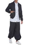 Half-shirt style pants