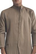 Wrap style kurta with front slit