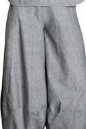 Panel style flared pants with side pockets