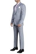 Checkered tuxedo set