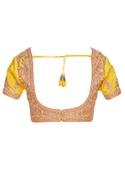 Gota embroidered saree blouse