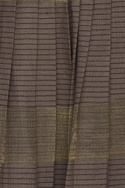 Kota silk & khadi pleated maxi skirt