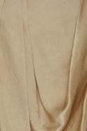 Fusion style satin dhoti skirt