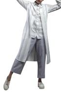 Shirt style layered tunic