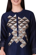 Hand embroidered tunic.