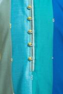 Stripe panel kurta set