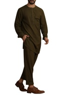 Handwoven kurta with front pocket