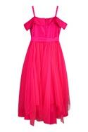 Asymmetric off shoulder dress