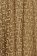 Brocade silk woven skirt