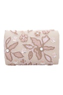 Beads and sequin embellished clutch box