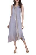 Asymmetric tassel dress