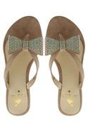 Embellished Bow Box Heels Sandal
