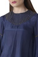 Flared sleeves hand embroidered top