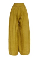 Wide Legged Embroidered Pants