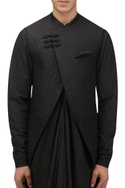 Front overlap nehru jacket