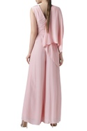 Box Pleated Jumpsuit with Drape