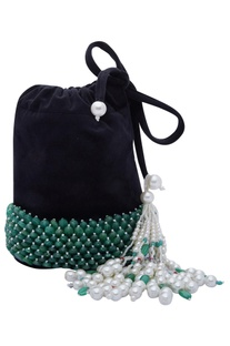 Handcrafted Beaded Potli Bag