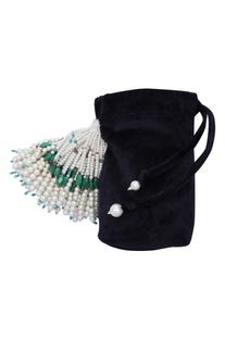 Pearl Tasseled Potli Bag