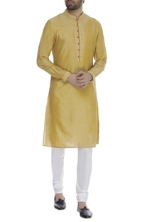 French knot embroidered kurta