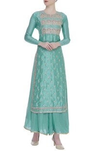 Gota patti & badla embroidered kurta set