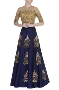 Hand Zardozi Embroidered Lehenga Set