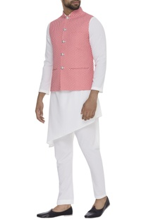 Digital Printed Nehru Jacket