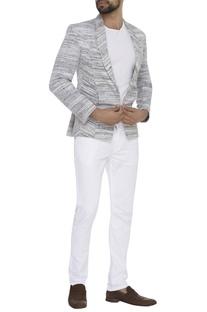 Kadhi Shawl collar blazer jacket