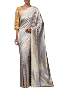 Handwoven mulberry silk Saree