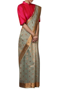 Embroidered Handwoven Saree