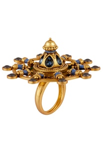 Amrapali Oversized Emblem Ring