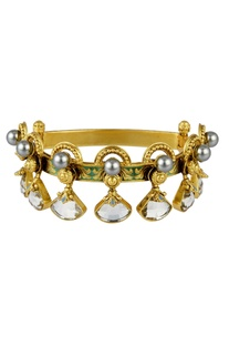 Baroque drop design bracelet