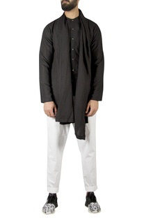 Layered draped Short Kurta