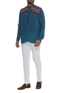 Hand Embroidered Full Sleeve Shirt