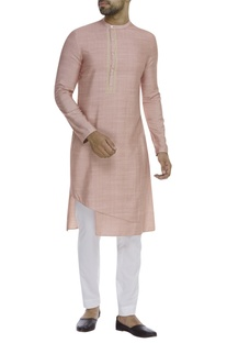 Layered asymmetric kurta