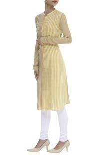 Dual Hued Striped Tunic