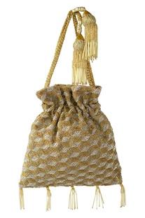 Cutdana Embellished Potli Bag