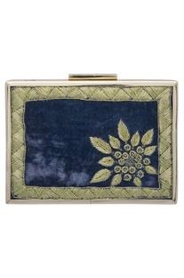 Zardozi Hand Embroidered Clutch Cum Sling bag