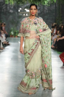 Resham Hand Embroidered Cape